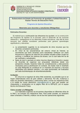 webgrafía de Ajedrez - Subsecretaría de Promoción de Igualdad y