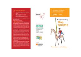 El ingenio escolar y Don Quijote Una escuela, mil culturas