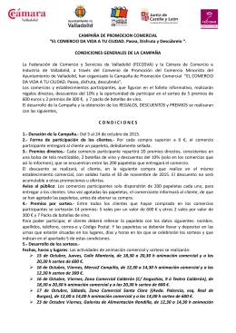 CAMPAÑA DE PROMOCION COMERCIAL