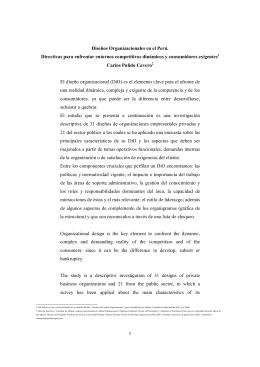 02Dise±os Organizacionales en el Peru