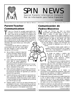 SPIN Newsletter Fall 2003_as pdf