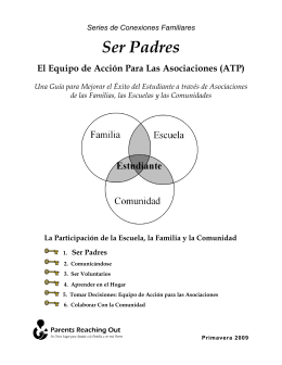 Ser Padres - Parents Reaching Out