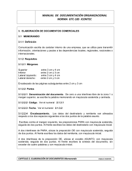 manual de documentación organizacional norma gtc