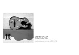 Reseñas - Cristina Lamata