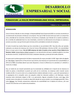 DESARROLLO EMPRESARIAL Y SOCIAL