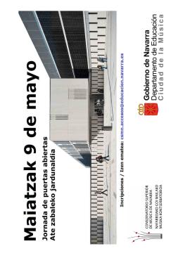 Más información - Conservatorio Superior de Música de Navarra