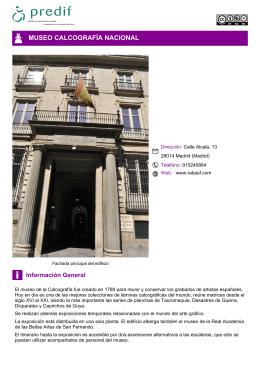 MUSEO CALCOGRAFÍA NACIONAL