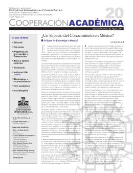 Número 20 - Universidad Iberoamericana