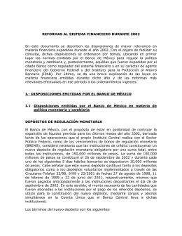 2002 - Banco de México