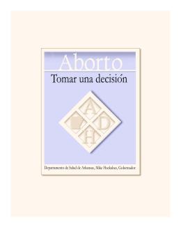 reacción emocional ante el aborto