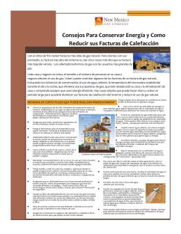 Consejos Para Conservar Energía y Como Reducir sus Facturas de