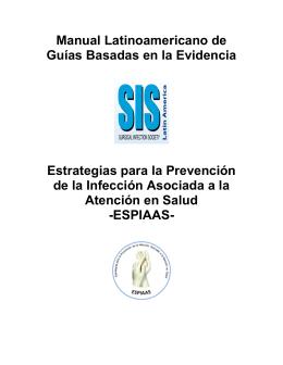 Manual Latinoamericano de Guías Basadas en la Evidencia