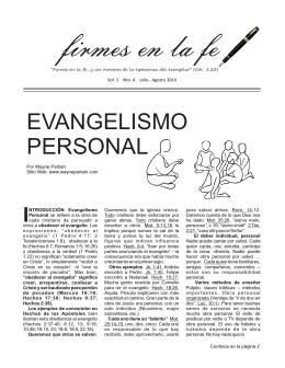 Firmes en la fe (Julio - Agosto 2014).cdr