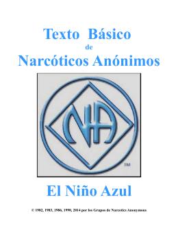 Texto Básico Narcóticos Anónimos El Niño Azul