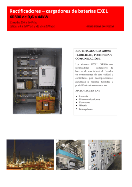 Rectificadores XR800