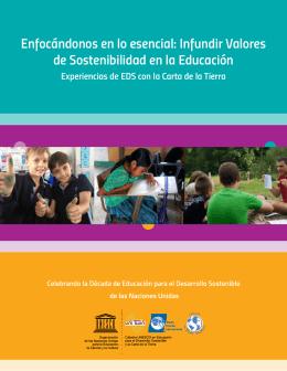 Infundir Valores de Sostenibilidad en la Educación