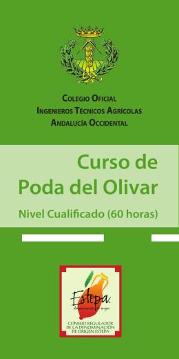 Curso PODA.indd - Colegio Oficial de Ingenieros Técnicos Agrícolas