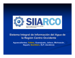\(Microsoft PowerPoint - SIARCO, Presentaci\\363n taller MICLCH