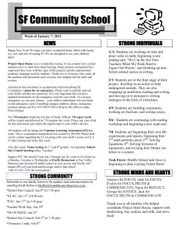 SF Community School