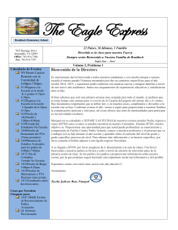 The Eagle Express - Fairfax County Public Schools