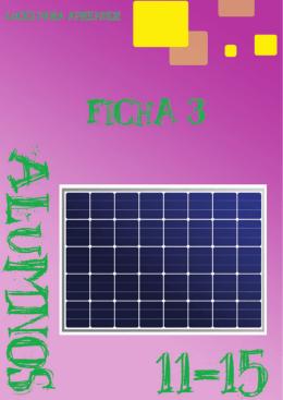 1 El panel solar - Luces para aprender