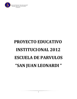 san juan leonardi - Ministerio de Educación