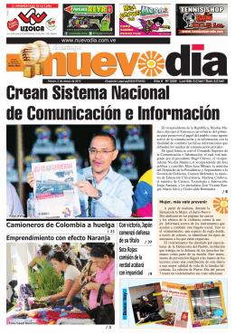 Crean Sistema Nacional de Comunicación e Información