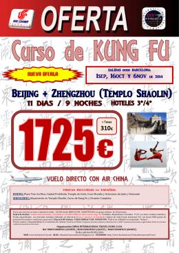 Portada Oferta - Curso Kung Fu (01Sep-16Oct