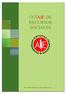 Guía completa de Recursos Sociales