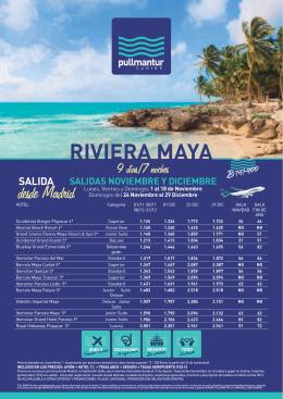 RIVIERA MAYA - Viajes Bidasoa