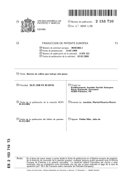 PUNTAL CON BARRERAS(ES2153710)