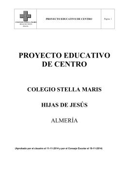 PEC REVISION 2014-2015 APROBADO C ESCOLAR
