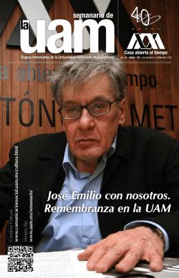 Vol. XX • Núm. 23 - Universidad Autónoma Metropolitana