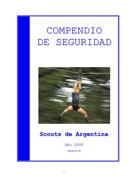 COMPENDIO DE SEGURIDAD - Grupo Scout San Patricio