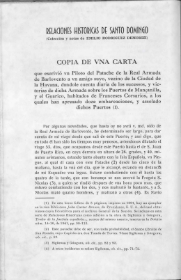 COPIA DE VNA CARTA