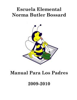 Operaciones escolares - Norma Butler Bossard Elementary School