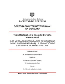 Tesis - Dirección General de Servicios Telemáticos