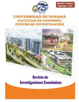 REVISTA CIFE 2010.cdr - Universidad de Panamá