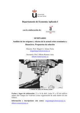 File - Orígenes y efectos de la crisis económica y financiera.