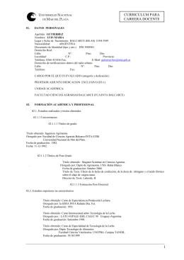 cv gutierrez - Página sin título - Universidad Nacional de Mar del Plata
