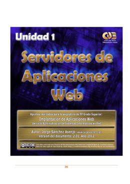Servidores de Aplicaciones Web.