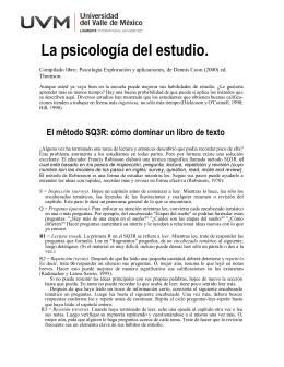 Articulo Técnicas de Estudio.