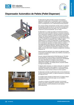 Dispensador Automático de Pallets