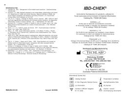 IBD-CHEK - FROST Diagnostika GmbH