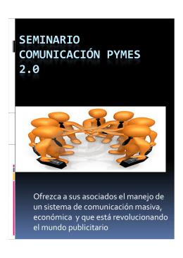 SEMINARIO Ó COMUNICACIÓN PYMES 2.0