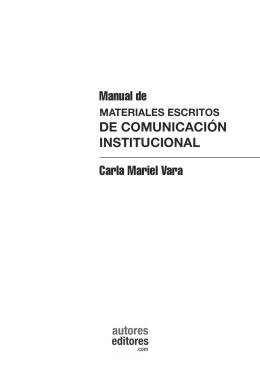 Carla Mariel Vara Manual de DE