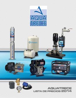 Folleto AquaTRECE 2014.indd