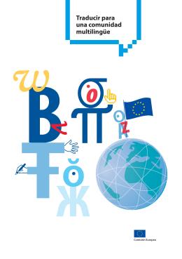 Traducir para una comunidad multilingüe