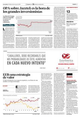 OPA sobre Jazztel: es la hora de los grandes inversionistas 13