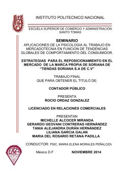 CP2014 O746r - Instituto Politécnico Nacional